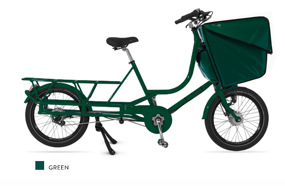 Bicicapace Justlong Green