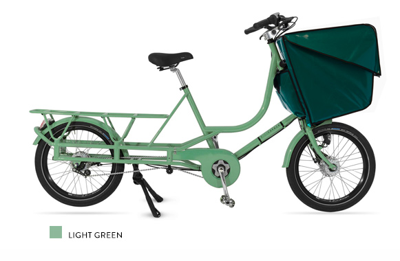Bicicapace Justlong LightGreen