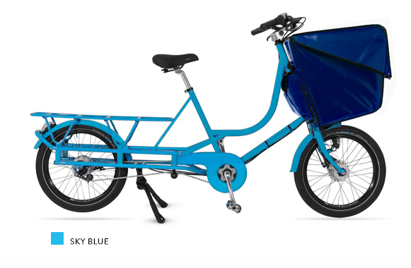 Bicicapace Justlong SkyBlue