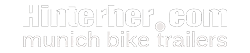 logo hinterher bike trailer