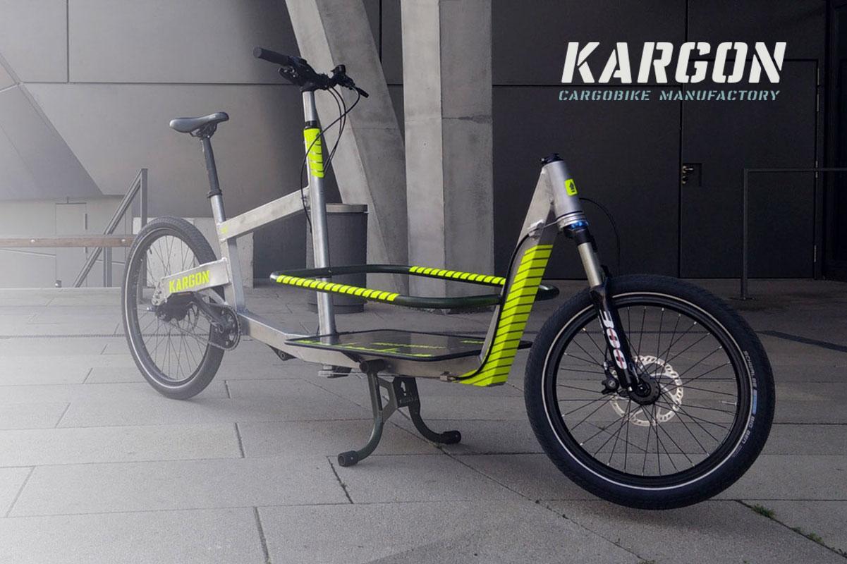 KARGON ONE Series – Das leichte Lastenrad