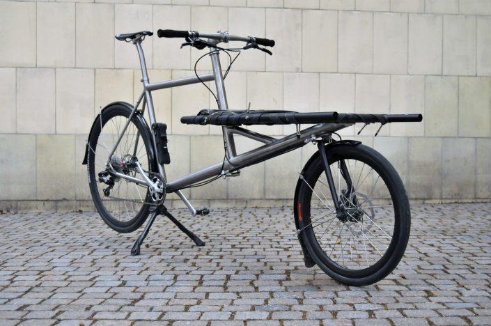 Omnium Ti - the titanium bike