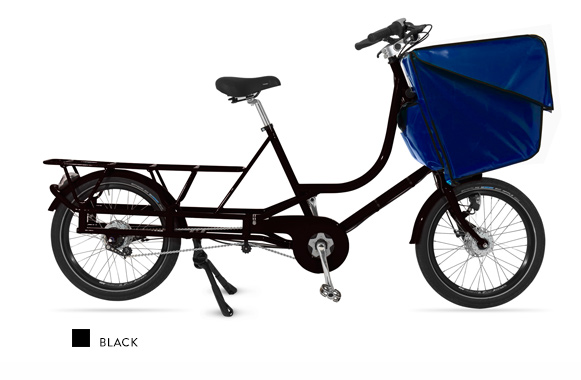 Bicicapace Justlong Black