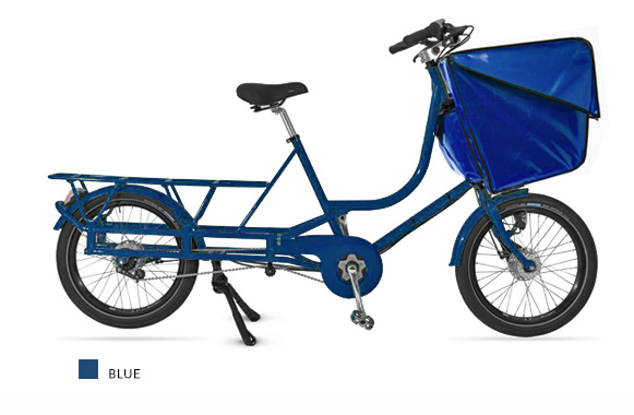 Bicicapace Justlong Blue