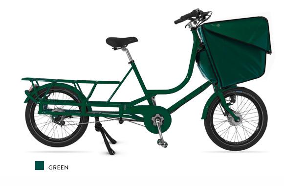 Bicicapace Justlong Green