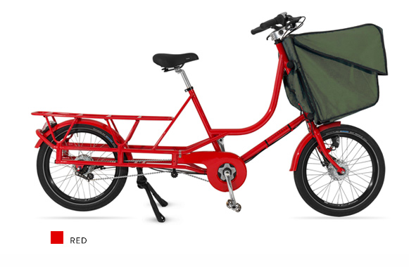 Bicicapace Justlong Red