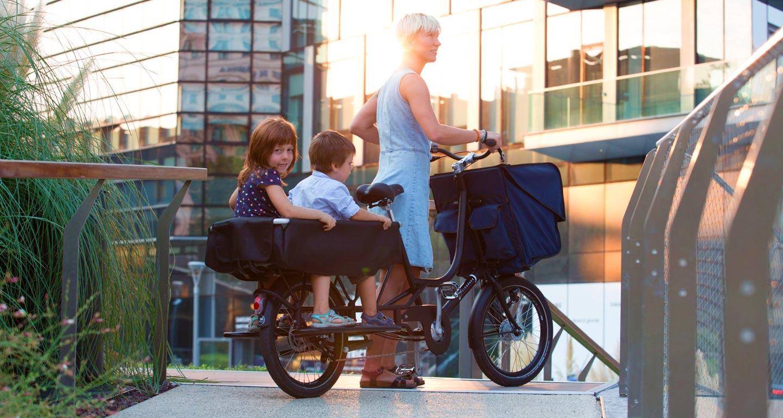 Bicicapace Justlong Lastenrad Cargobike
