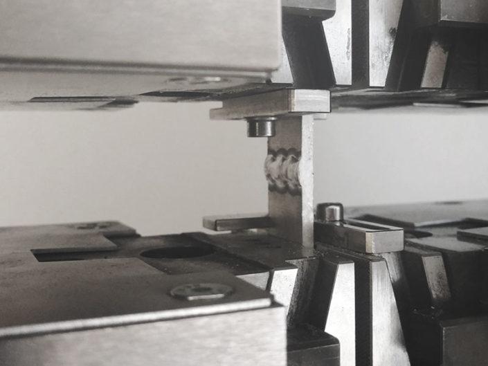 Kargon One Series Rohmaterial Aluminium Schweissproben