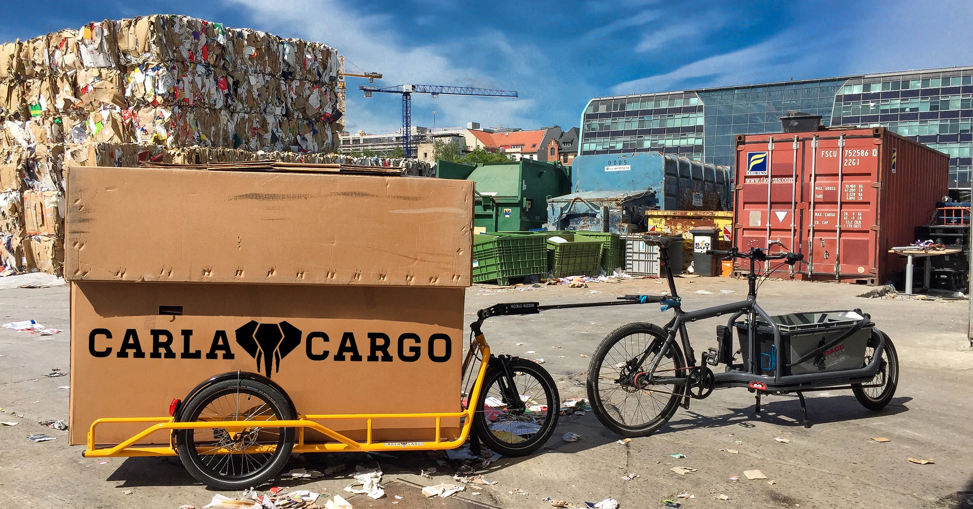 CARLA CARGO - Lastenanhänger | Velogut Berlin