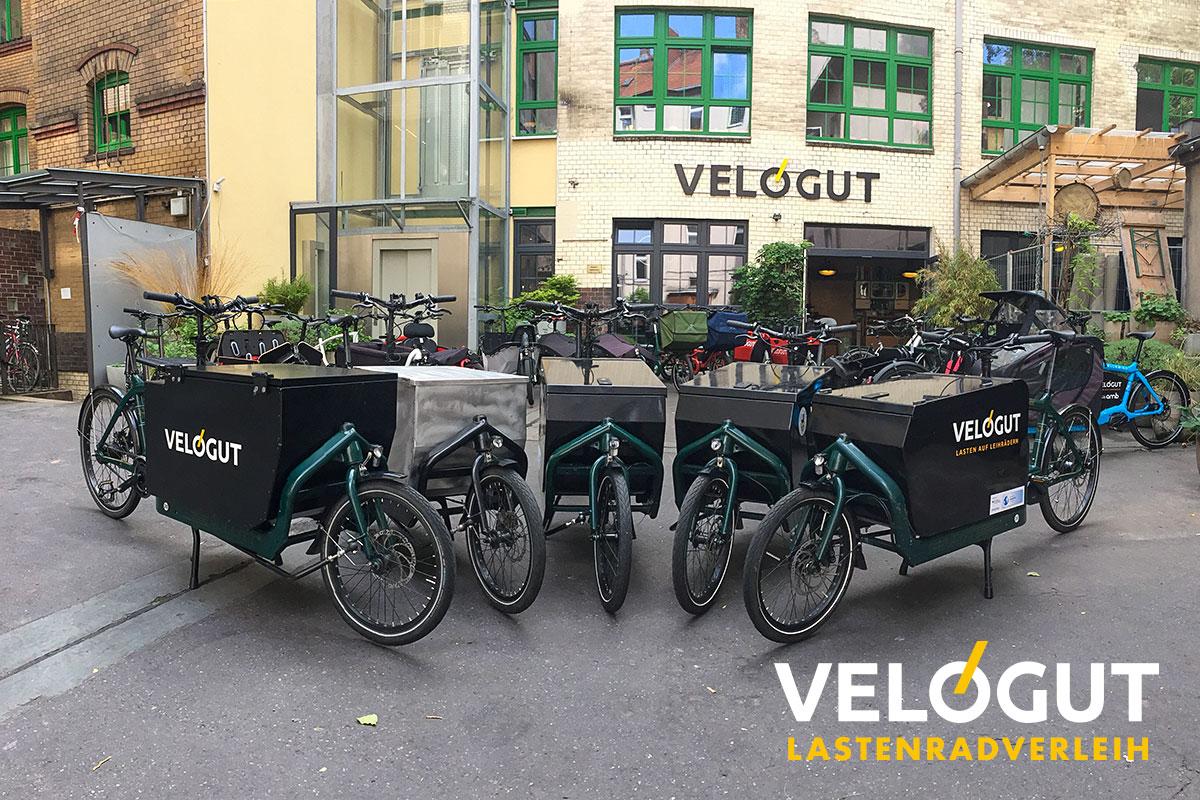 Lastenradverleih Velogut Berlin
