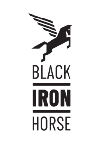 Black Iron Horse - Logo