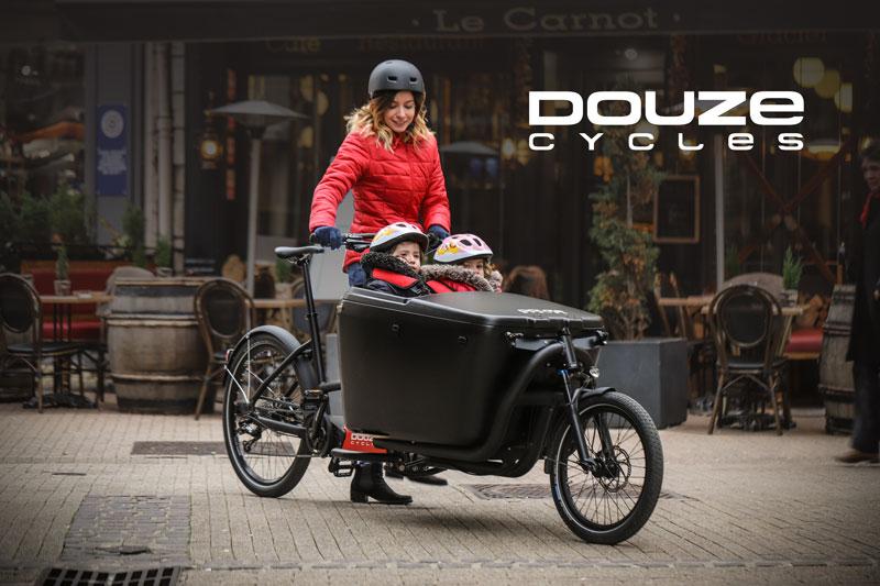 DOUZE Cycles cargobikes titel