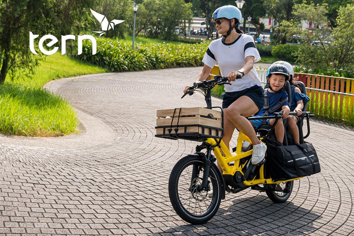 Tern Cargo Bikes GSD und HSD