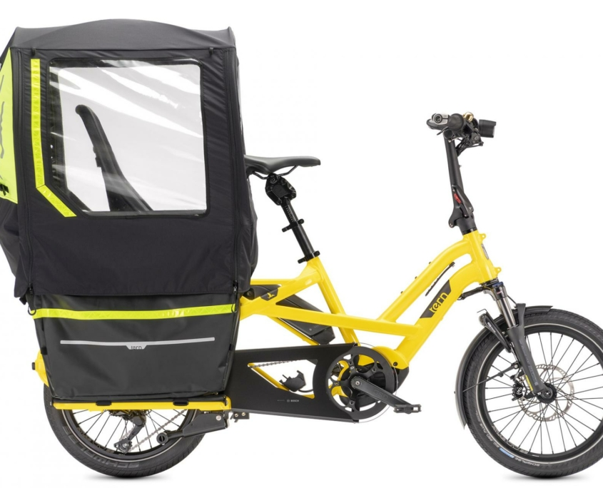 Tern Storm Shield GSD G2 Fort Childseats Side closed